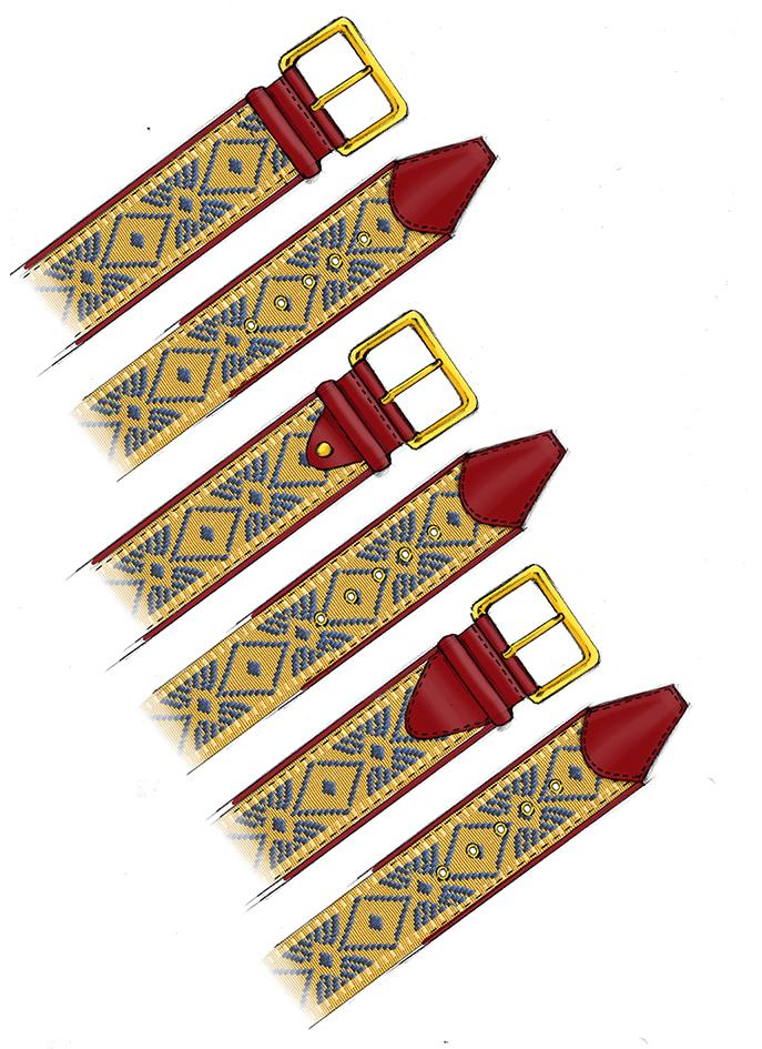 Sketch belt
