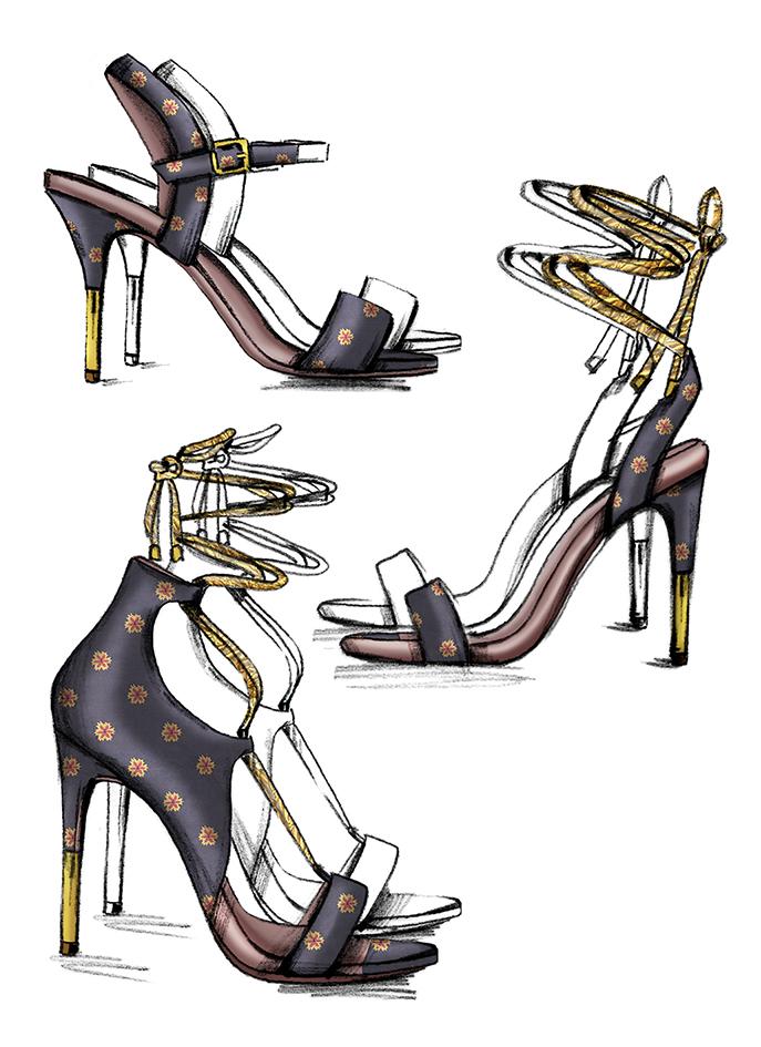 Sketch shoe 1